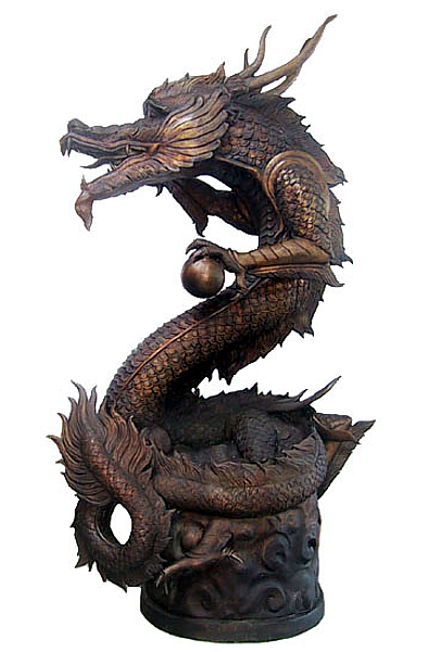 Bronze Dragon Statue - DD A-138