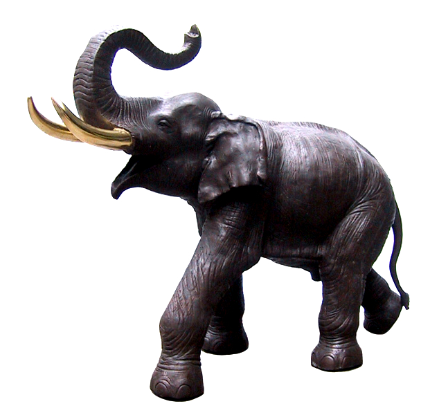 Bronze Elephant Fountain Statue. - DD A-170L