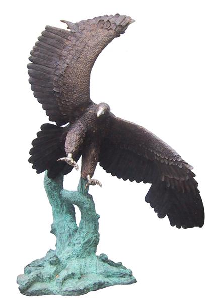 Bronze Eagle Statues | Bird of Prey - DD A-195