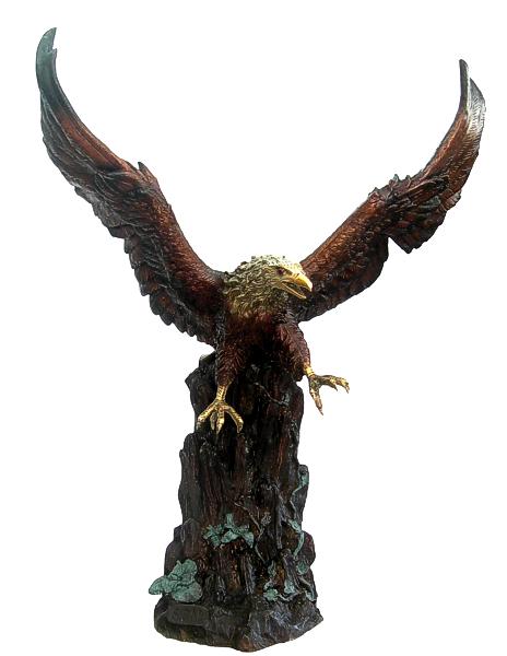 Bronze Eagle Statues | Bird of Prey - DD A-235