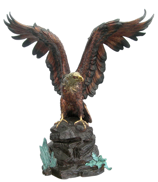 Bronze Eagle Statues | Bird of Prey - DD A-245