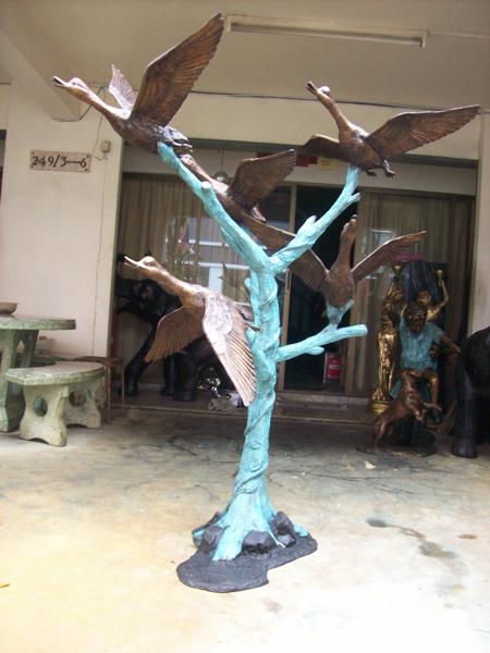 Bronze Duck Statue - DD A-249