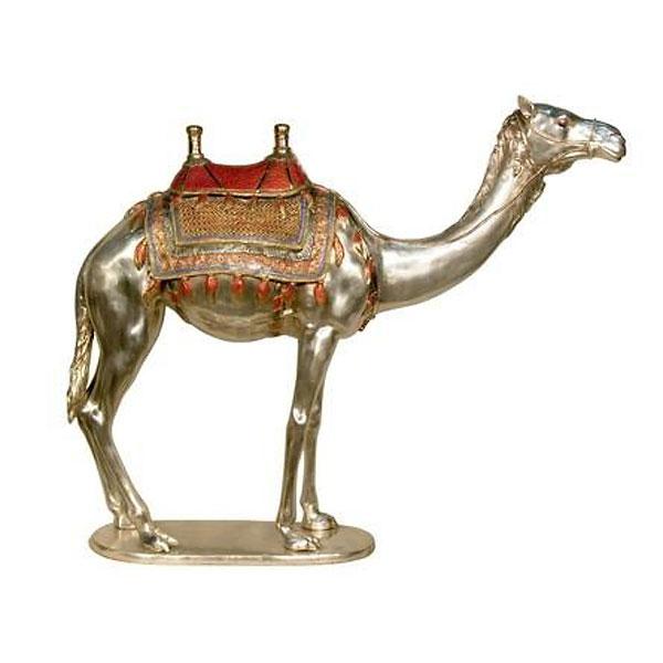 Bronze Camel Statue - AF 52742NA