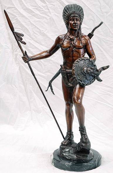 Bronze Indian Statue - AF 58522MTT