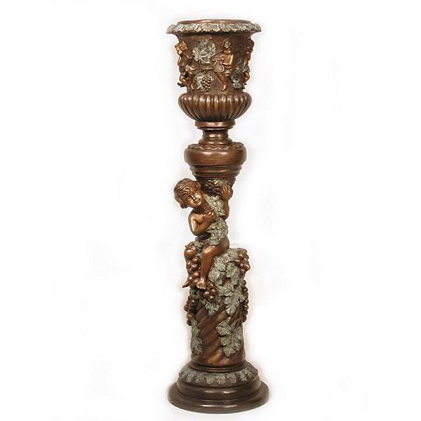 Bronze Cupid Urns - AF 59525BG