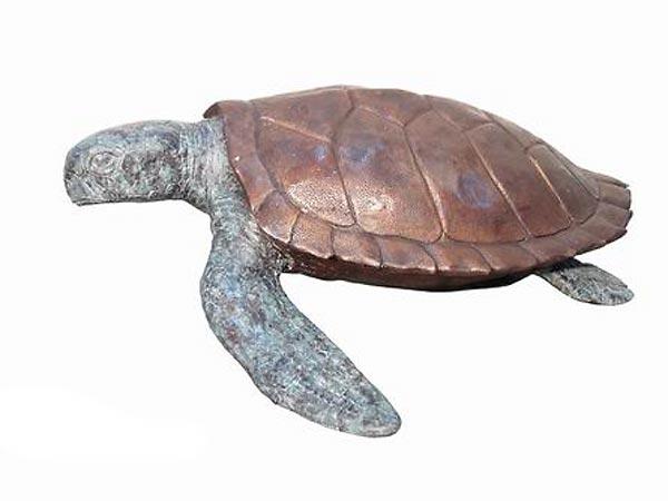 Bronze Sea Turtle Statue - AF 75036
