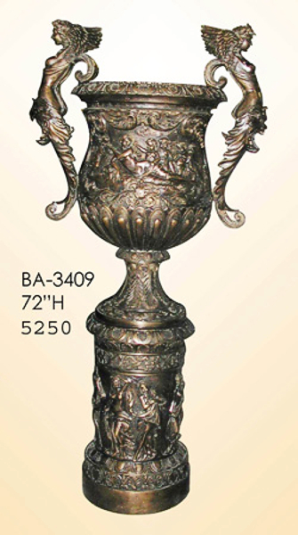 Bronze Winged Lady Urn - ASI BA-3409