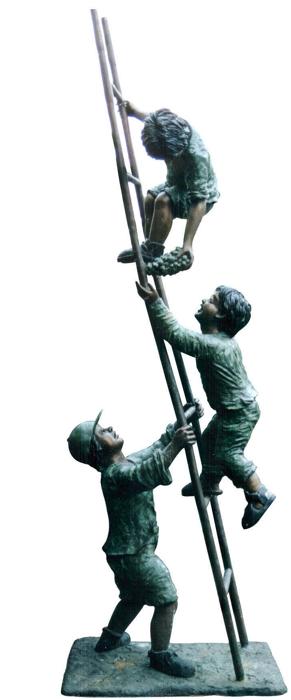 Bronze Children Statues - DD G-060A