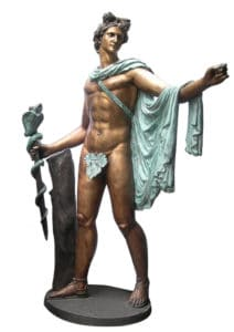 Bronze Roman Greek Mythical Legend Statues