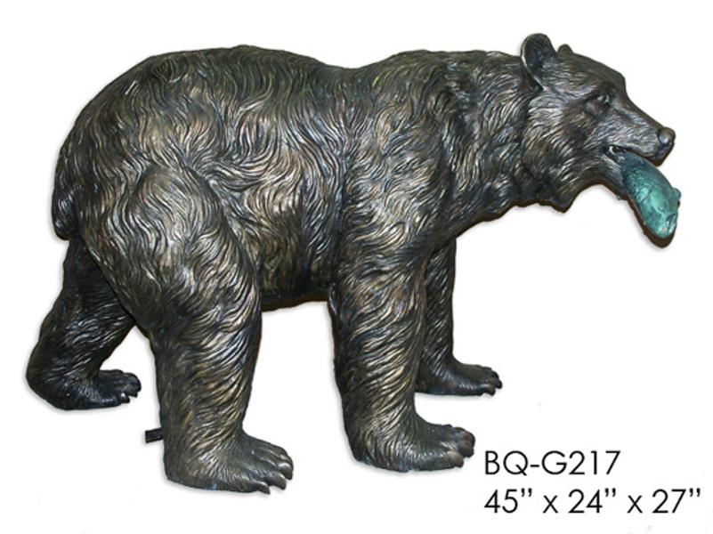 Bronze Bear Statues - ASI BQ-G217