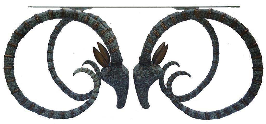 Bronze Gazelle Coffee Table - DK 52