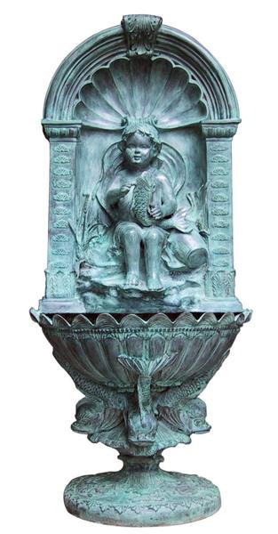 Bronze Wall Fountain - DK 1183