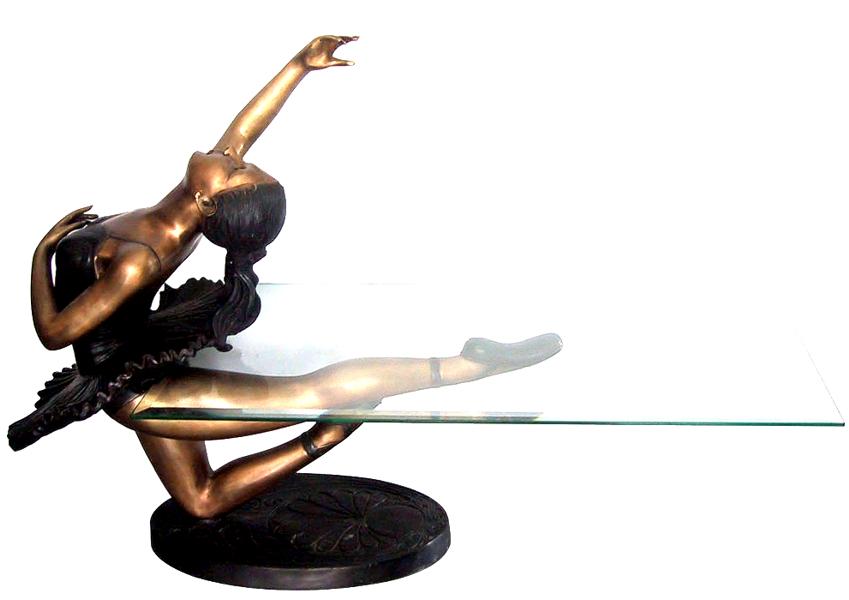 Bronze Ballerina Table - DK 1757
