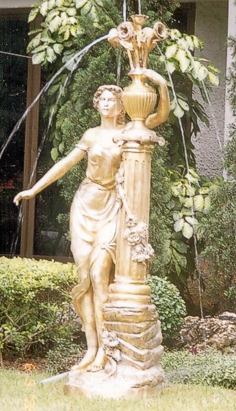 Bronze Lady Statue - DK 1771-1