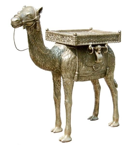 Bronze Camel Table - DK 1862