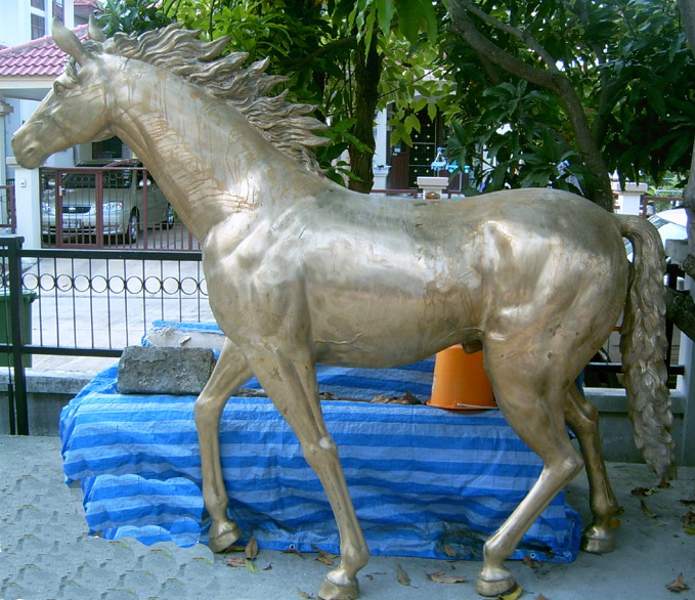 Bronze Horse Statues - DK 1970