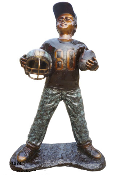 Bronze Football Sculptures | Bronze Football Statues - DK 1974