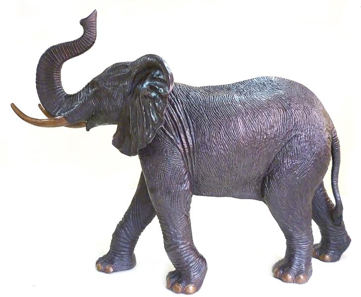 Bronze Elephant Statue - DK 2287