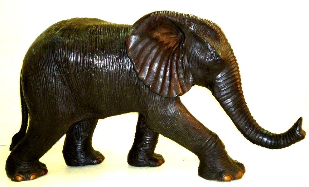 Bronze Elephant Statue - DK 2290
