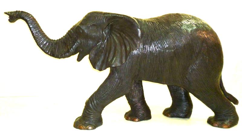 Bronze Elephant Statue - DK 2291