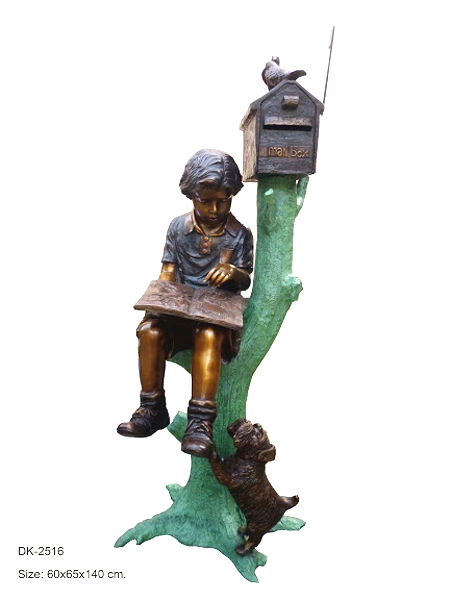 Bronze Children's Themed Mailbox - DK 2516