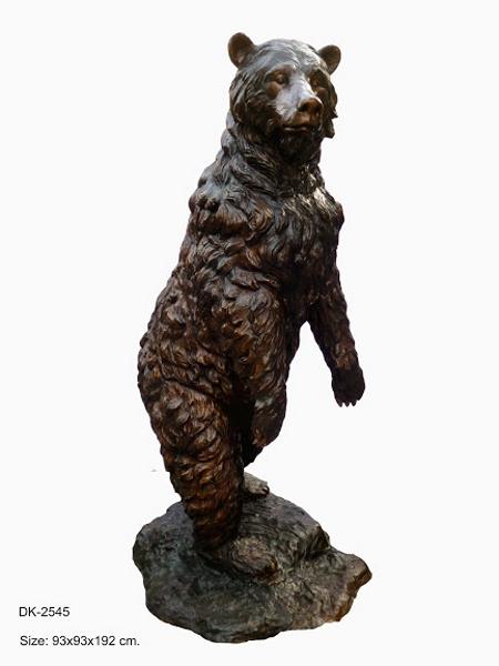 Bronze Bear Statues - DK 2545