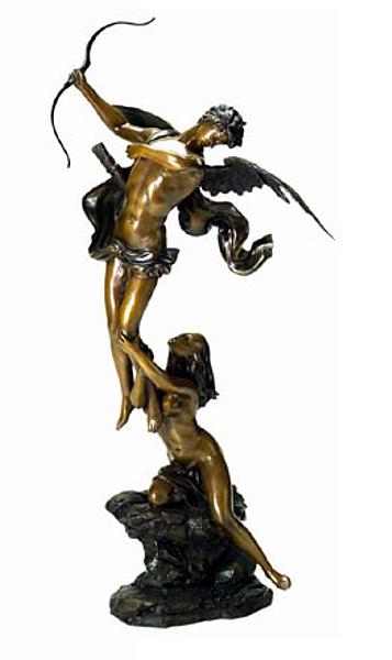 Bronze Angel Statue - DD E-151
