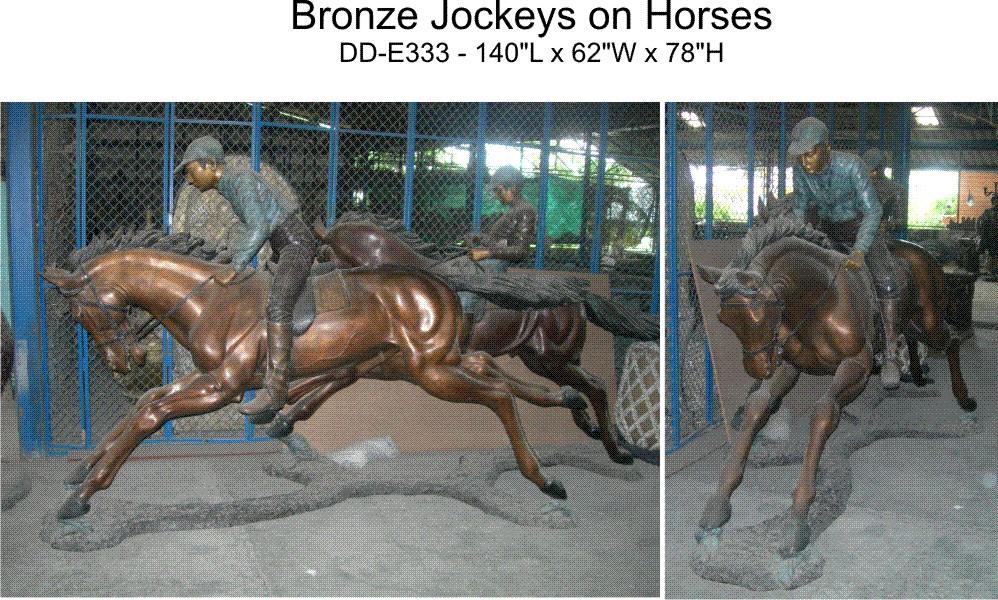 Bronze Horse Statues - DD E-333