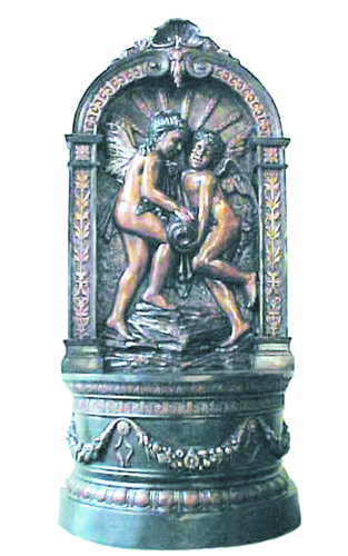 Bronze Angels Wall Fountain - PA F-1079