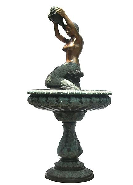 Bronze Mermaid Fountains - DD F-114
