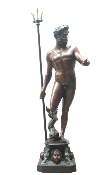 Bronze Poseidon Neptune Fountain - DD F-123
