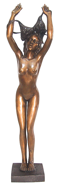 Bronze Erotic Nude Sculpture - CP FG0248