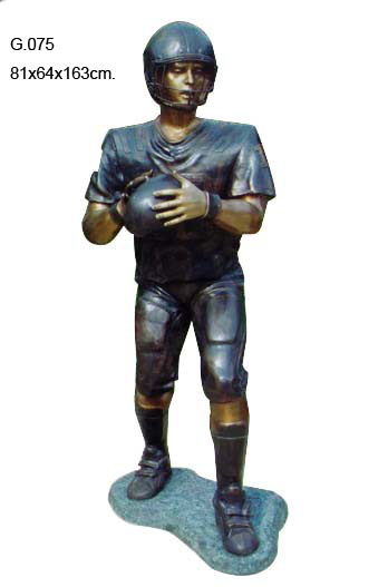Bronze Football Sculptures | Bronze Football Statues - DD G-075