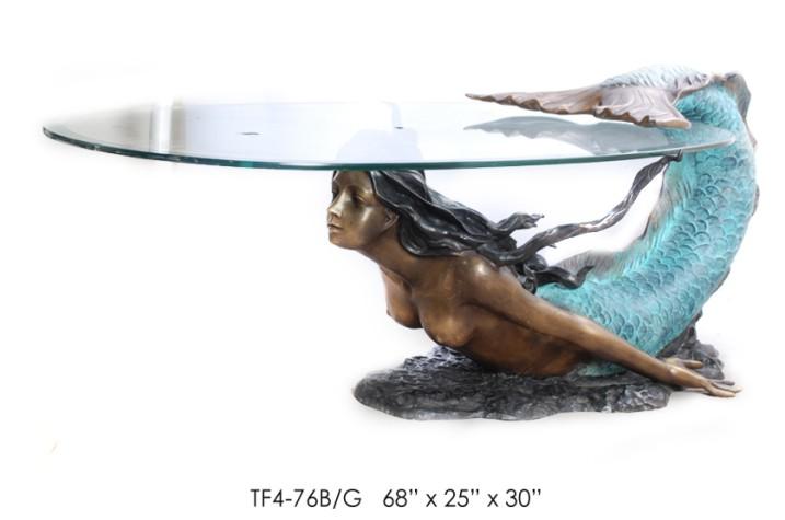 Bronze Mermaid Statue - ASI TF4-76B