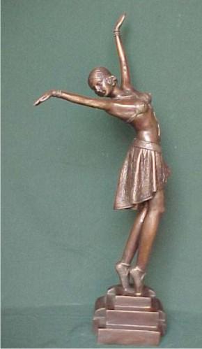 Bronze Ballerina Statue - PA S-1069