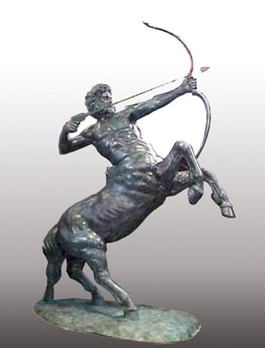 Bronze Centaur Statue - PA S-1098
