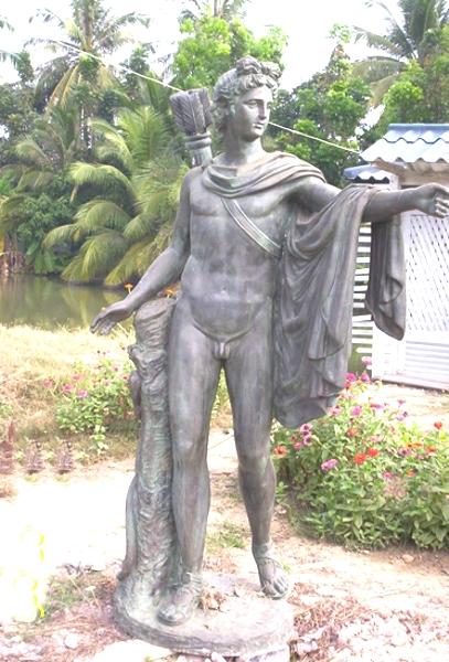 Bronze Apollo Statue - PA S-1103