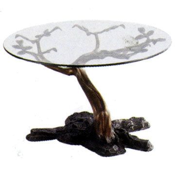 Bronze Tree Themed Table - DD TB0127