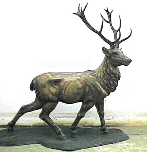 Bronze Elk Statues - ASI TF3-81L