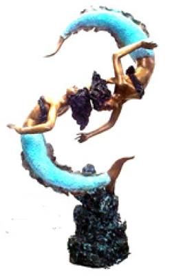 Bronze Mermaid Statues - ASI TF4-76G