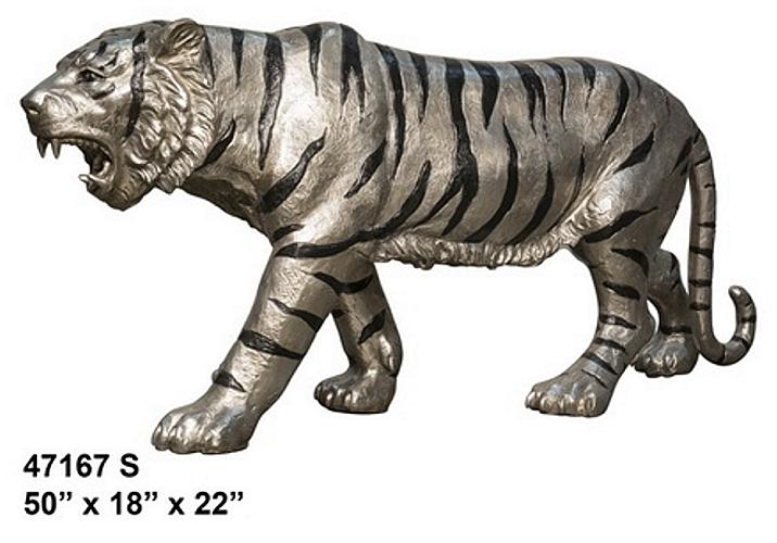 Bronze Tiger Statues - AF 47167S
