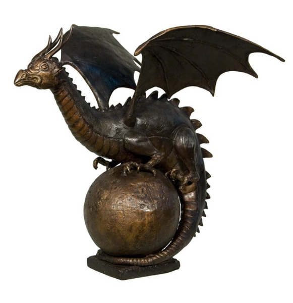 Bronze Dragon Fountains - AF 56495-F