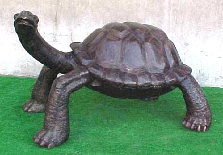 Bronze Turtle Statue - PA A-1161