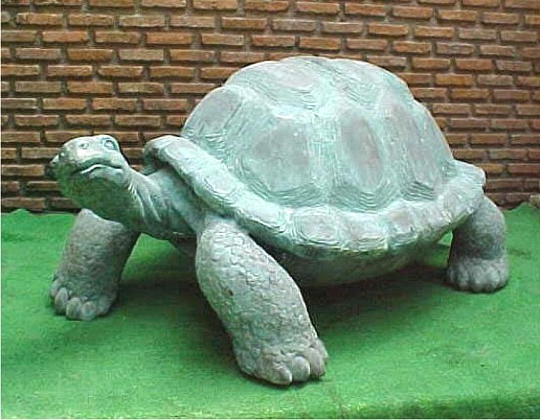 Bronze Turtle Statue - PA A-1162