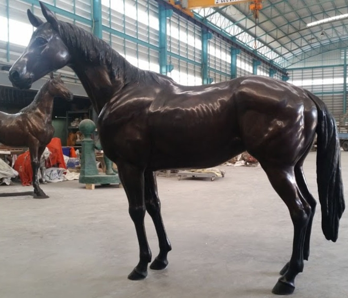 Bronze Life-Size Horse Statues - PA A-1200