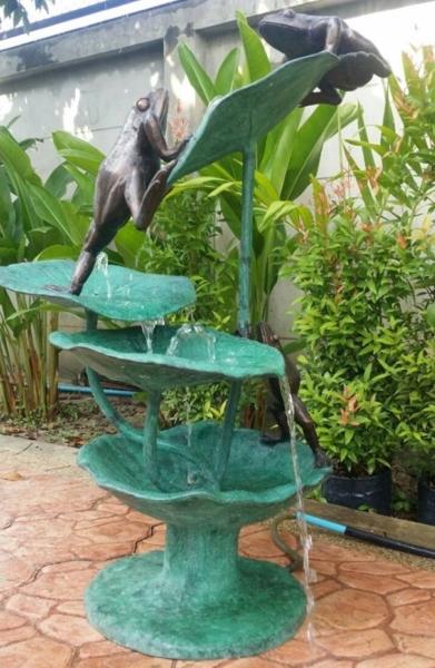 Bronze Frog Fountain - PA F-1103
