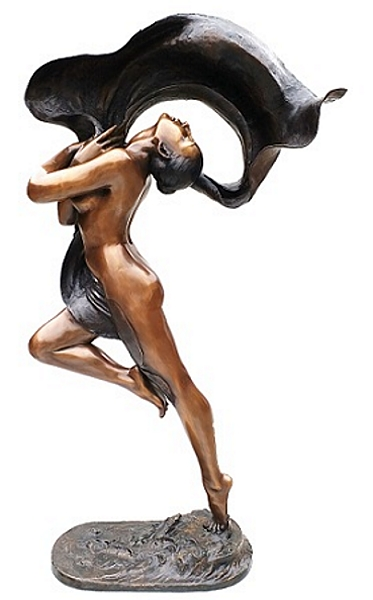 Bronze Exotic Dancer Statue - P-919
