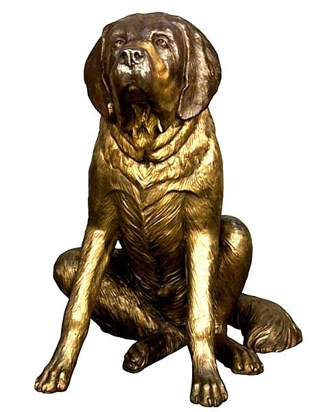 Bronze Dog Statues - AF 18114