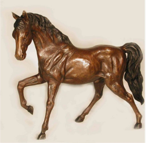 Bronze Horse Statues - AF 25886