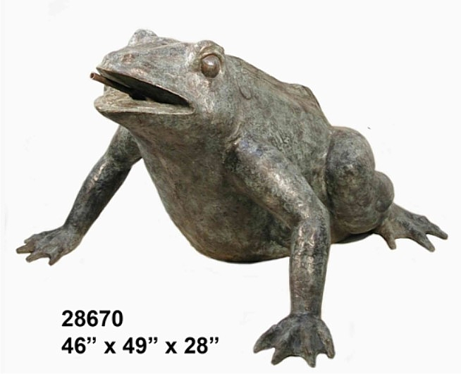 Bronze Frog Fountains - AF 28670